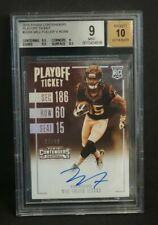 2016 Contenders Will Fuller Playoff Ticket Sepia RC Auto /99 - BGS 9 Mint 10 AU