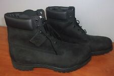 """Timberland Mens 6"""" Premium Leather Waterproof Boots 17M ~NEW~"""