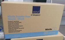 NITRIL ABENA Handschuhe, puderfrei, schwarz, Größe L, 10 x 200 Stück Packungen
