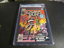 LOGAN'S RUN #6: 1ST EVER SOLO THANOS STORY CGC 9.2!!!!!! SEE MY OTHER CGC ITEMS!