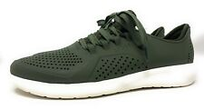 Crocs Men's LiteRide Pacer Army Green Lace up Sneaker Shoes Men's Size 9