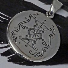Peter Stone Voodoo Papa Damballah Amulett 925 Silber kosmische Urkraft Schutz