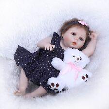 Reborn Doll Girl Baby 22'' Full Vinyl Anatomically Correct Newborn Collectable