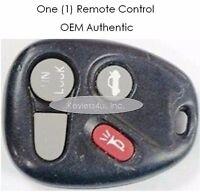 GM 10246215 keyless remote entry control clicker alarm beeper transmitter keyfob