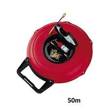 Kati® Blitz Compact 50 m Kabeleinziehsystem mit Zubehör Sortiment Einziehspirale
