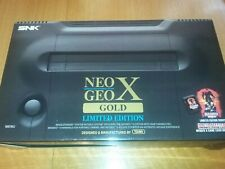 Neo Geo X GOLD LIMITED EDITION CONSOLE+HANDHELD+ 2 ARCADE STICKS+ MEGAPACK+MORE