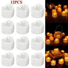 12X LED Kerze fr Außen mit Timer flackernde flammenlose Kerzen flackernd Outdoor