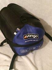 VANGO NITESTAR 300 SQ BLUE & BLACK SLEEPING BAG  OUTDOORS CAMPING