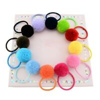 Solid Hairball With Rope Handmade Hair Acceorie With For Kids W3O3 Ela Band L3C8