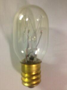 NEW Himalayan Salt Lamp, 1 Light Bulb T20 E12 - 120V to 145V - 15W