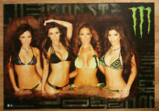 Monster Energy Poster- Bikini GIRLS ---> FREE EXTRA POSTER