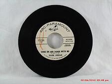 DIANE JORDAN -(45)- PROMO - COME ON AND DANCE WITH ME / SET 'EM UP POP  -  1963