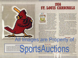 1956 ST LOUIS CARDINALS Willabee Ward COOPERSTOWN COLLECTION BASEBALL TEAM PATCH