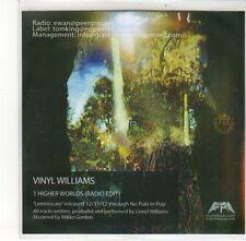 (DK804) Vinyl Williams, Higher Worlds - 2012 DJ CD