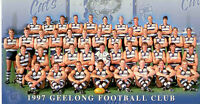 1997 Herald Sun AFL Official Team Photo Geelong
