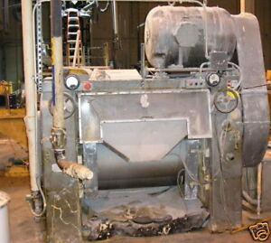 Mullins Mfg. Three Roll Mill, Offset,16 X 38 Item# 8222