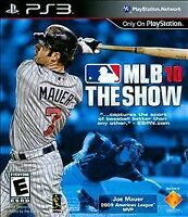 MLB 10: The Show (Sony PlayStation 3, 2010)M