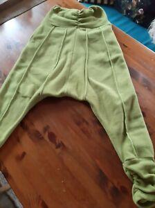 Damen Hose,Größe S,grün,Flecce
