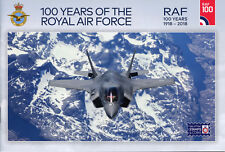 Isle of Man IOM 2018 MNH Royal Air Force RAF 100 16v S/A Booklet Aviation Stamps