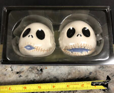 Nightmare Before Christmas Salt & Pepper Shakers Jack Skellington New in Box