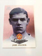 Manchester United Futera Platinum 1999 Greatest Card (JS)
