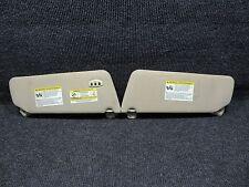 04-08 F150 F-150 Sunvisors Sun Visors Illuminated w/Homelink Garage Door Buttons