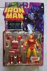 NEW MARVEL IRON MAN SPACE ARMOR W POWER LIFT SPACE PACK 1995 TOYBIZ FIGURE! S51
