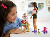 Barbie Skipper Babysitters Inc Feeding Playset - Barbie Toddler Doll High Chair