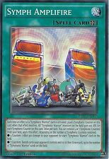 YU-GI-OH CARD: SYMPH AMPLIFIRE - RATE-EN092 - 1st EDITION