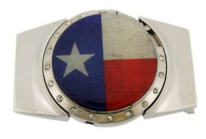 Removable Lighters Belt Buckle Don't Mess with Texas State Rodeo Western Style