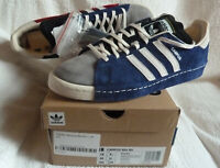 Adidas Orignals Campus 80s SH RECOUTURE Dark Blue Suede UK 9.5 NEW BOXED FY6753
