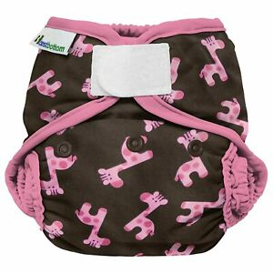 Best Bottom One Size Cloth Diaper Cover Shell Hook and Loop Closure - 868805