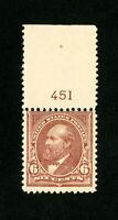 US Stamps # 271 F + OG NH Fresh Pl# Scott Value $360.00