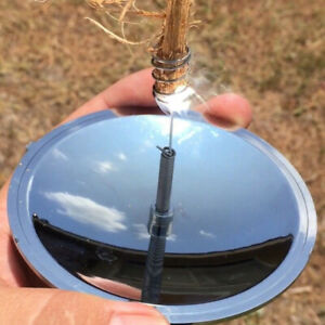 Camping Solar Ignition Lighter Fire Starter Emergency Outdoor Survival Tool Kits