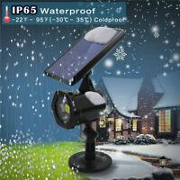 IP65 Waterproof Christmas Decor LED Laser Projector Solar Light Outdoor Lamp