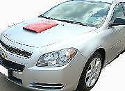 Fits: Chevrolet Malibu 2008-2012 Custom Hood Scoop ABS Plastic Paint to Match