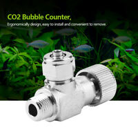 Aquarium Aluminum Bubble Counter with Check Valve for Co2 Diffuser Regulator