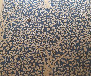 6.5 Rolls* CHINA SEAS L'Arbre de Matisse Reverse China Blue White Wallpaper