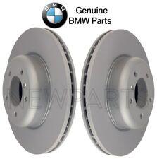 For BMW E82 E88 135i Pair Set of Front L+R 338x26mm Brake Disc Rotors Genuine