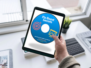 Pinterest Marketing Course, 9 Part MP4 Video Training on CD-Rom + Download Link