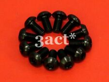 12 pcs Black M5 x 10mm Titanium/Ti Bolt - Hayes, Avid, Shimano Disc Brake Rotor