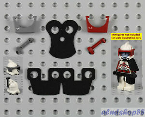 LEGO Star Wars - Black Cloth Kama & Pauldron w/ Visor Clone Commander 9488 75098