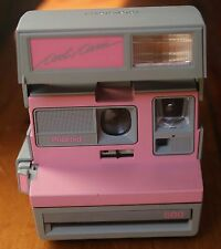 Polaroid Cool Cam 600 Instant Camera (Pink & Grey) - VINTAGE & WORKS