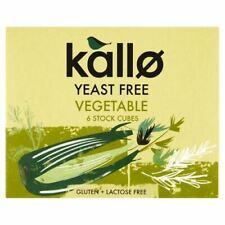 Kallo légumes Stock Cubes-Levure de libre - 66 g - 76189