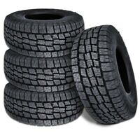 4 Lexani Terrain Beast AT 285/60R20 125/122S All Season Terrain M+S Truck Tires