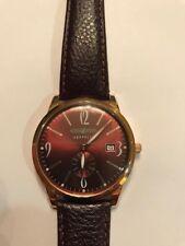 Zeppelin Flatline Quartz watch Rose Gold 39mm case Bronze dial  7336/1208
