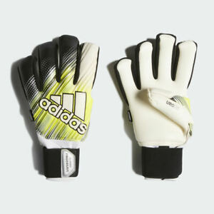 Adidas Classic Pro Fingersave Gloves Black/Solar Yellow/White DY2621