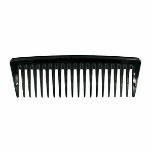 7in, Pegasus 404, Hard Rubber, Wide Tooth Tall Styling Comb