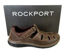 Rockport Zonecrush Rocksports Fisherman Sandals Brown US 10 EUR 44 New Z367