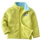 Boy Girl Polar Fleece Jacket Autumn Winter Long Sleeve Thick Warm Outerwear New